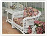 How to repair wicker furniture (for the chair on the front porch).  Where does one find wicker fibers?