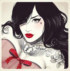 Tati Ferrigno Beautiful sketches and illustrations by Tati Ferrigno.