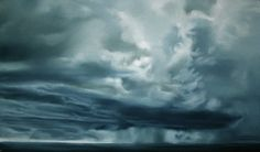 Available for sale from Winston Wächter Fine Art, Zaria Forman, Untitled Soft pastel on paper, 50 × 35 in Number 50, Watercolor Clouds, Chalk Pastels, Pastel Drawing, Artsy, Waves, Fine Art, Landscape, Drawings