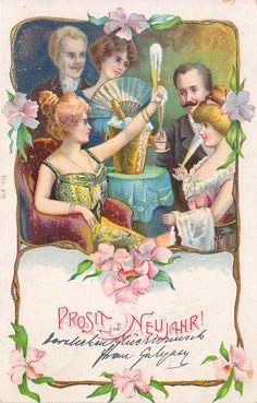 Neujahr - Silvestergesellschaft, 1902