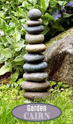 How to Build a Backyard Playhouse - Othence Garden Decor, Outdoor Stone, Diy Raised Garden, Pool Landscaping, Garden Sculpture, Stone Landscaping, Garden Deco, Landscape Decor, Outdoor Backyard