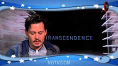 Transcendence Uncensored with Johnny Depp, Rebecca Hall, Paul Bettany, K... (NSFW - Language)