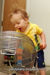 This is awesome - a blog with ideas for science games and projects for babies and young children.
