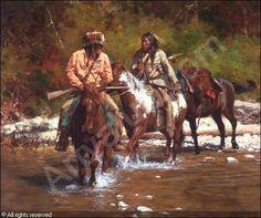 Crossing Badger Creek