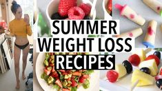 HEALTHY RECIPES TO LOSE WEIGHT FOR SUMMER 2018! (What I eat to get in shape) - YouTube