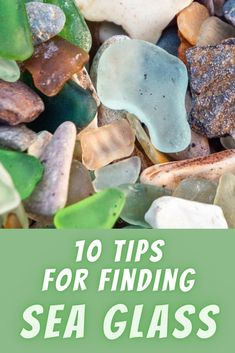 Have you ever come across sea glass while beachcombing? If looking for sea glass is something that you love doing while at the beach, you'll want to read these 10 tips and techniques to increase your odds for finding sea glass. Outdoor Fun For Kids, Glass Rocks, Glass Containers, Walking In Nature, Sea Glass, Entertainment, Beach, Places, Tips