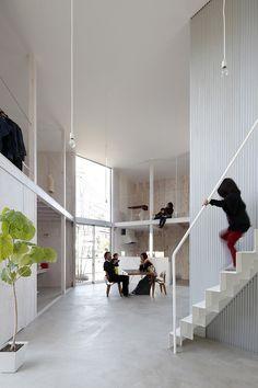 House In Kashiwa by Yamazaki Kentaro Design Workshop