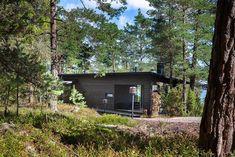 Sauna Kirkkonummella Saunas, Deck, Cottage, Cabin, Architecture, House Styles, Summer, Garden, Inspiration