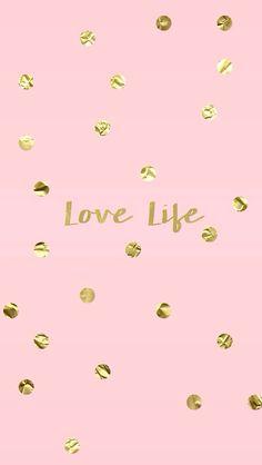 Fondo Pink, Cellphone Wallpaper, Gold Wallpaper Phone, Kate Spade Wallpaper, Wallpaper For