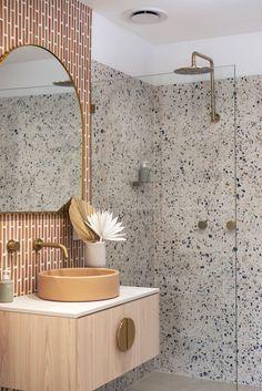 Home Interior Inspiration .Home Interior Inspiration Bathroom Renos, Laundry In Bathroom, Small Bathroom, Remodled Bathrooms, Colorful Bathroom, Eclectic Bathroom, Bathroom Ideas, Bathroom Designs, Master Bathroom