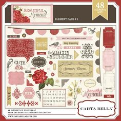 pink stuff | This layout is going to go beside a 12 by 12 photo enlargement– a…