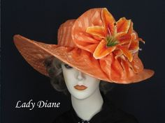 ff2ca896469 Kentucky Derby Hat of the Day - Lady Diane Hats