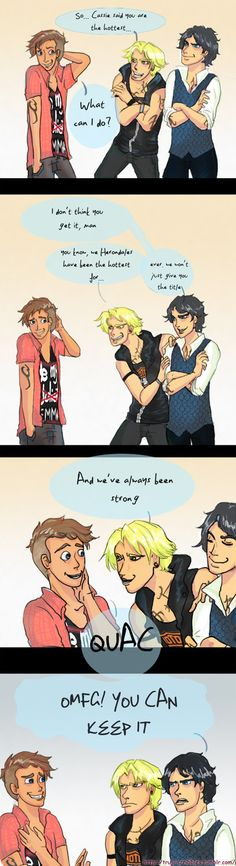 Julian Blackthorn meets the Herondales!!! Ahh, is it my doom to fall in love with every boy from BOTH the series?!