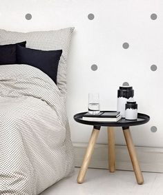 Polka Dots Wall Decal Stickers  2 Circle Decals  by KareAndDesign