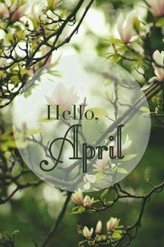 Hello April !
