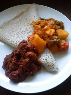 A Profound Hatred of Meat: Shimbra Asa (Spicy Chickpea Stew) & Atakilt Alicha (Gardener's Vegetables in Aromatic Spices)