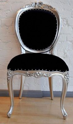 Elegant Chair For  Dark Living Room has never been so Amazing! Since the beginning of the year many girls were looking for our Trendy guide and it is finally got released. Now It Is Time To Take Action! See how... #interiors #homedecor #interiordesign #homedecortips Dark Living Rooms, Living Room Chairs, Living Room Decor, Dining Chairs, Black Upholstered Bed, Upholstered Chairs, Silver Furniture, Painted Furniture, Bedroom Furniture