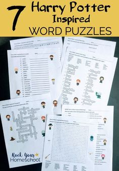 Potter-Inspired Word Puzzles for Learning Fun Activities Boost learning fun with these 7 Harry Potter-Inspired Word Puzzles. Brilliant learning fun activities with code, word search, crossword puzzle, & more! Harry Potter Classes, Harry Potter Activities, Harry Potter Thema, Cumpleaños Harry Potter, Harry Potter Classroom, Harry Potter Printables, Harry Potter Cosplay, Harry Potter Word Search, Harry Potter Halloween
