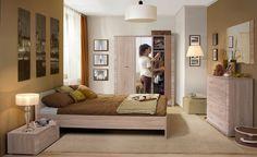 Sypialnia GRESS, dąb sonoma