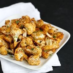Southwestern Roasted Cauliflower Recipe with Cumin & Paprika