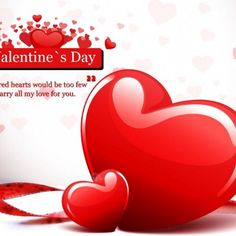 White Red Color combination Style and also Heart Shape Color Background as well as Love You Forever and Red Heartshape