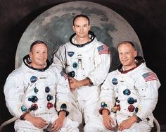 Apollo 11 crew. 1st on the moon
