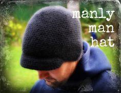 crochet man hat free pattern 9