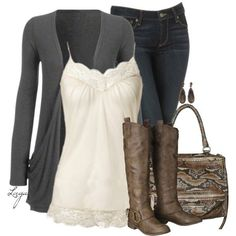 Neutral, created by lagu on Polyvore by Cindy Louise