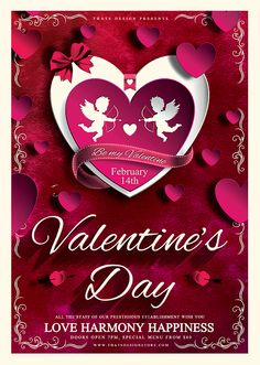 valentines day flyer template free