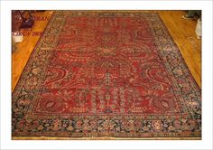 """Saruck Rug Number: 6406 Size: 9' x 12'3""""   Rugs R Us Online,"""
