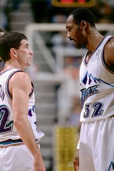 John Stockton, Jazz Players, Karl Malone, Nba Stars, Utah Jazz, Wnba, College Basketball, Superstar, Tank Man