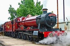 The real Hogwarts Express. Great Western 4-6-0.