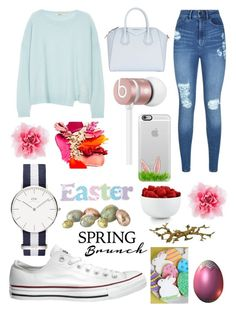 """""""Easter Brunch """" by elliemi on Polyvore featuring Mode, J Brand, Lipsy, Converse, Givenchy, Beats by Dr. Dre, Casetify, The Cellar und Cartier"""
