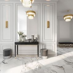 Enhance Your Senses With Luxury Home Decor Luxury Home Decor, Luxury Interior, Home Interior Design, Luxury Homes, Neoclassical Interior Design, Interior Livingroom, Living Room Designs, Living Room Decor, Modern Classic Interior
