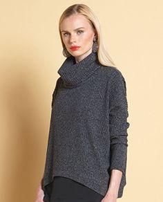 02e65c87ce428 Clara Sun Woo T92W Ribbed Sweater Turtleneck Sportswear Sale