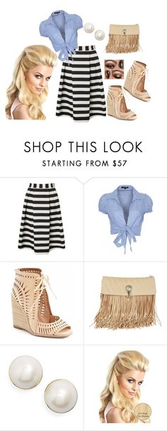 """""""Summer Blast"""" by ayanabrown on Polyvore featuring Lipsy, QED London, Jeffrey Campbell, Ermanno Scervino and Kate Spade"""