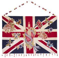 Jubilee by Lucinda Chambers | Wool Wallhanging