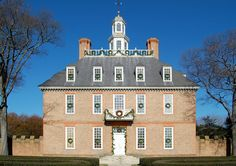 Governor's Palace in Williamsburg...Georgian architecture