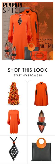 """""""Pumpkin Please... 2"""" by olga1402 on Polyvore featuring Improvements, MSGM, Michael Kors, Marni and NOVICA"""