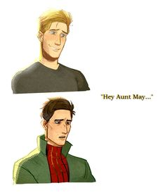 nervous babey — raythrill:I think about this everytime the scene. Avengers Memes, Marvel Avengers, Marvel Comics, Spider Verse, Ver Spiderman, Stucky, Miles Morales Spiderman, Spider Baby, Marvel Fan Art