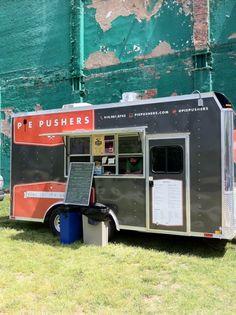 Pie Pushers, Durham NC    Amazing Pizza Slices  Always @ the Farmers Market on Saturdays