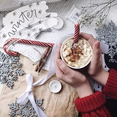 Image discovered by Find images and videos about winter, christmas and coffee on We Heart It - the app to get lost in what you love.