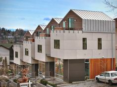 Denny Rowhouses - A project by David Foster Architects