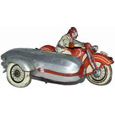 Günthermann Motorräder Touring Motorrad mit Seitenwagen...