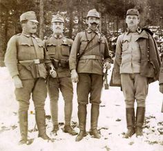 WW1 AUSTRO HUNGARIAN TROOPS