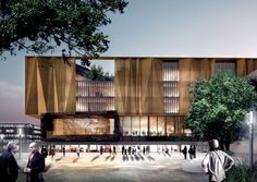 schmidt hammer lassen Unveil Chirstchurch's New Central Library