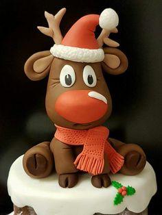 Fondant Rudolph the Reindeer
