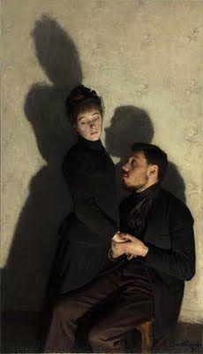 emile friant - shadows (1891)