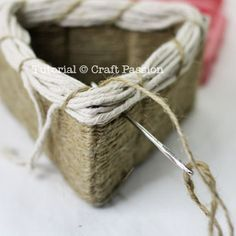 Woven Baskets - Tutorial - includes cardboard base templates for 3 baskets: round, triangular, and square