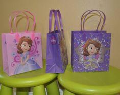 Disney Princess Sofia The First 6 Birthday Party Favor Bags